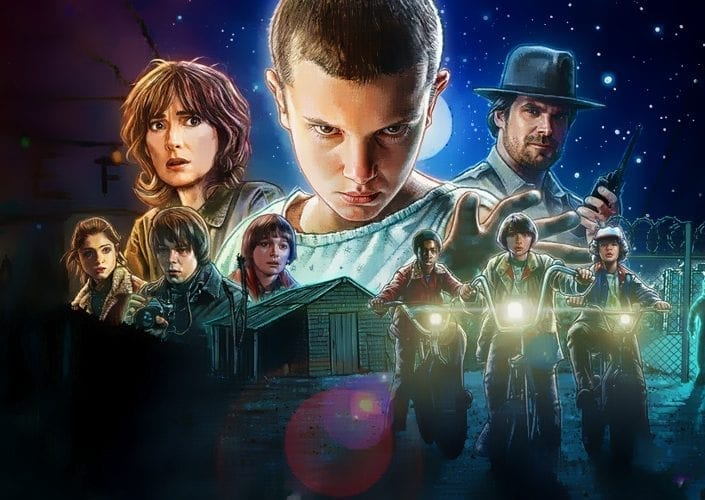 stranger things e dungeons and dragons - Metropoly
