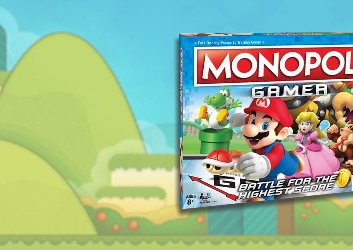 Monopoly Gamer Super Mario - Metropoly Bar