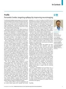 Fernando Cendes no The Lancet Neurology - artigo