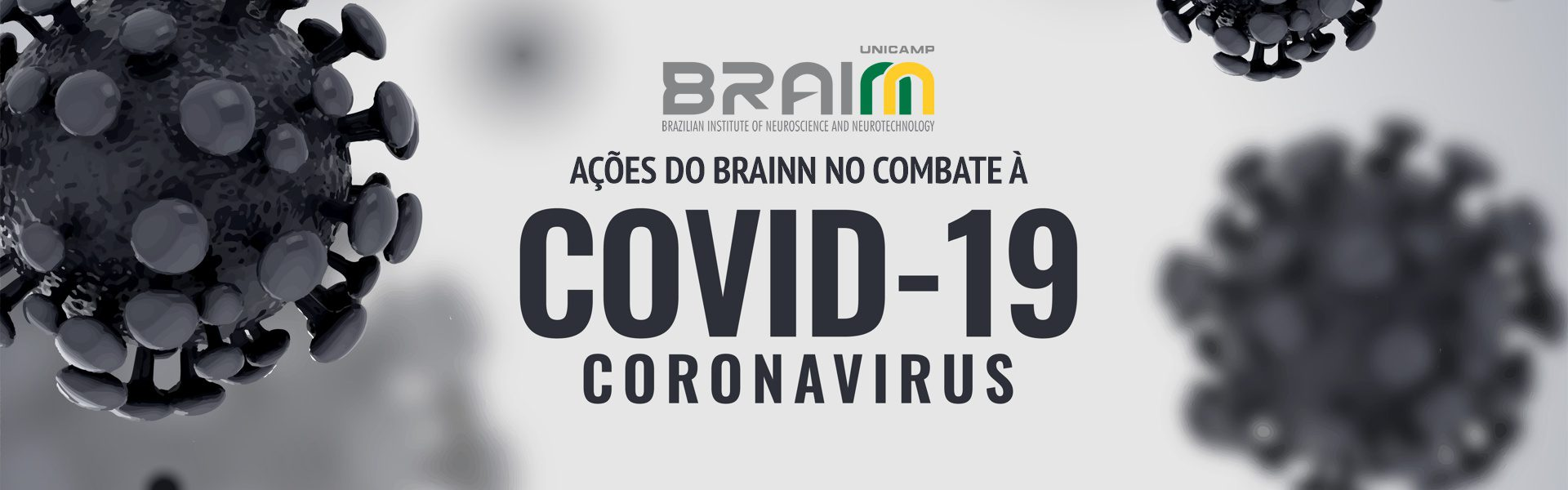 acoes do BRAINN no combate ao coronavirus