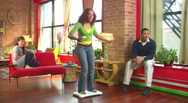 jogando wii fit plus diabetes